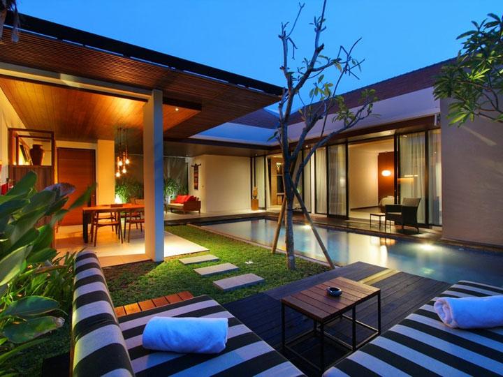 Abia Villa Legian - Bed Room Pool - Hoterip, Layanan Pesan Hotel Terbaik, Pesan dan Booking Hotel di Bali