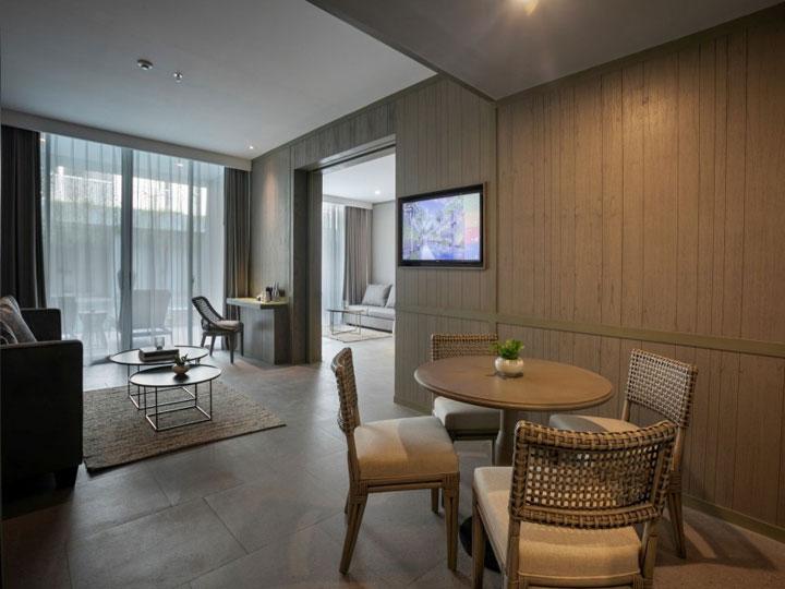 Kanvaz Village Resort Seminyak - Living Room - Hoterip, Layanan Pesan Hotel Terbaik, Pesan dan Booking Hotel di Bali