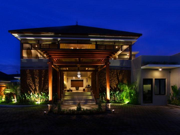 Maharaja Villas - Villa Entrance - Hoterip, Layanan Pesan Hotel Terbaik, Pesan dan Booking Hotel di Bali