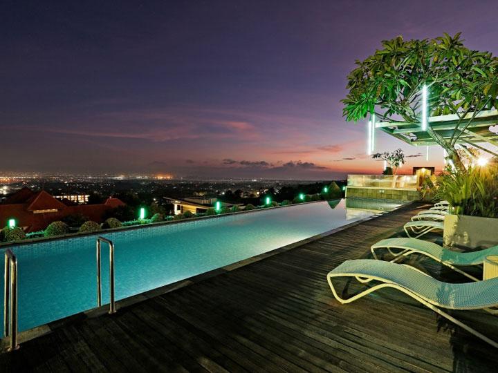 MaxOneHotels at Bukit Jimbaran - Pool Sunrise - Hoterip, Layanan Pesan Hotel Terbaik, Pesan dan Booking Hotel di Bali