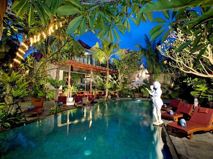 The Bali Dream Villa & Resort Echo Beach Canggu - Pool - Hoterip, Layanan Pesan Hotel Terbaik, Pesan dan Booking Hotel di Bali
