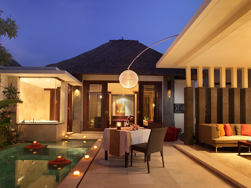 Mahagiri Villas Sanur - Dinner Setup & 1 Bedroom Villa - Hoterip, Layanan Pesan Hotel Terbaik, Pesan dan Booking Hotel di Bali